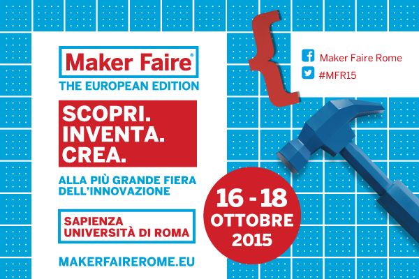Join Geduino at MakerFaire Rome 2015