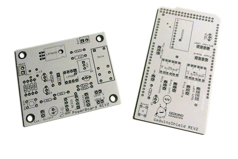 Geduino PCBs