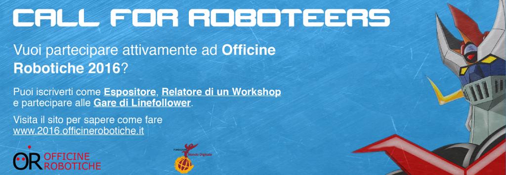 Officine Robotiche 2016