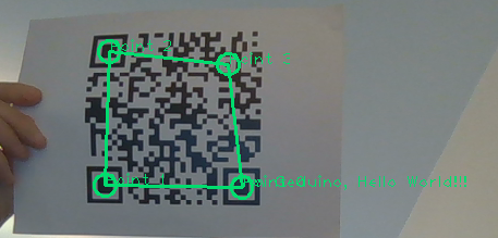 3D objects localization using QRCode | Geduino Foundation