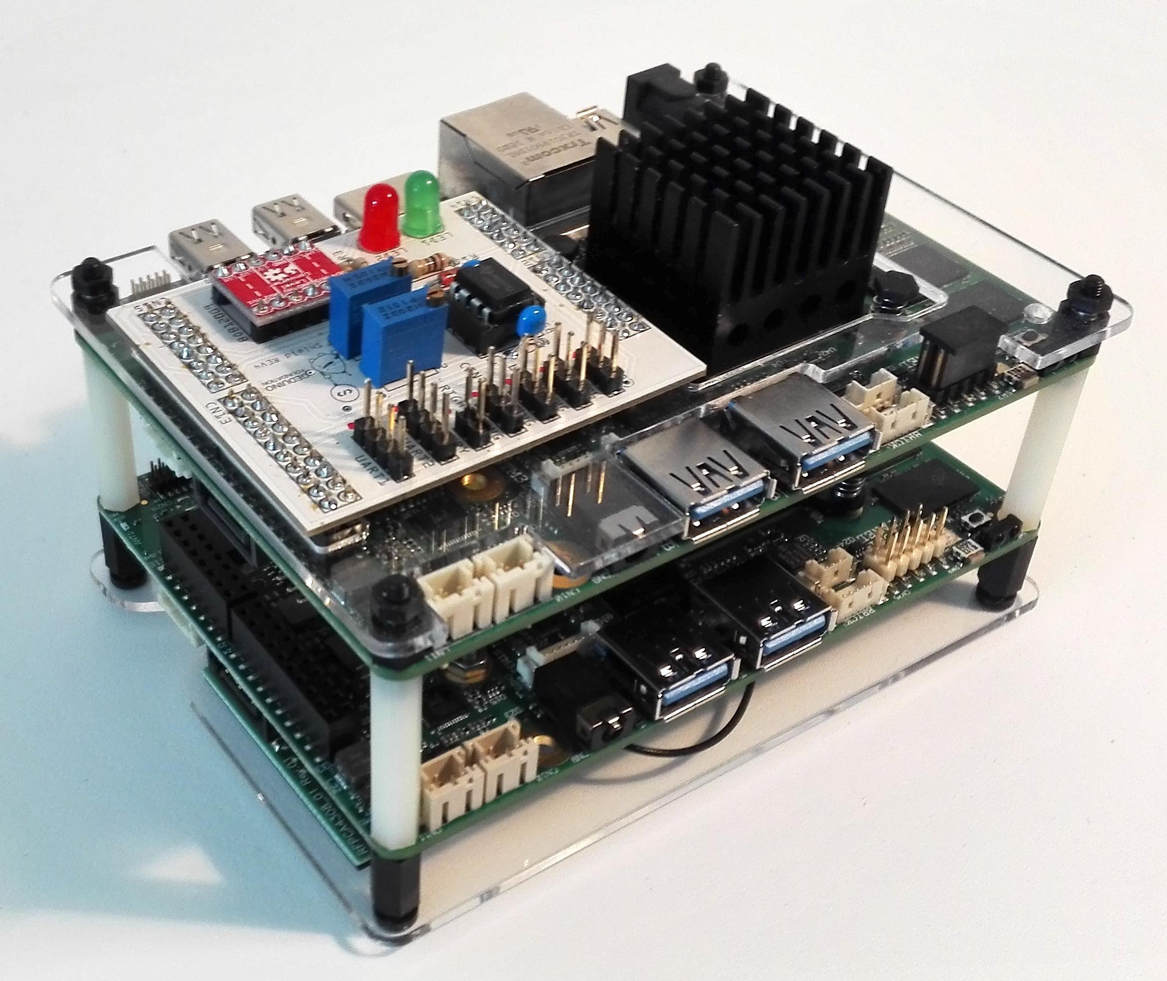 Geduino runs UDOO x86 cluster | Geduino Foundation